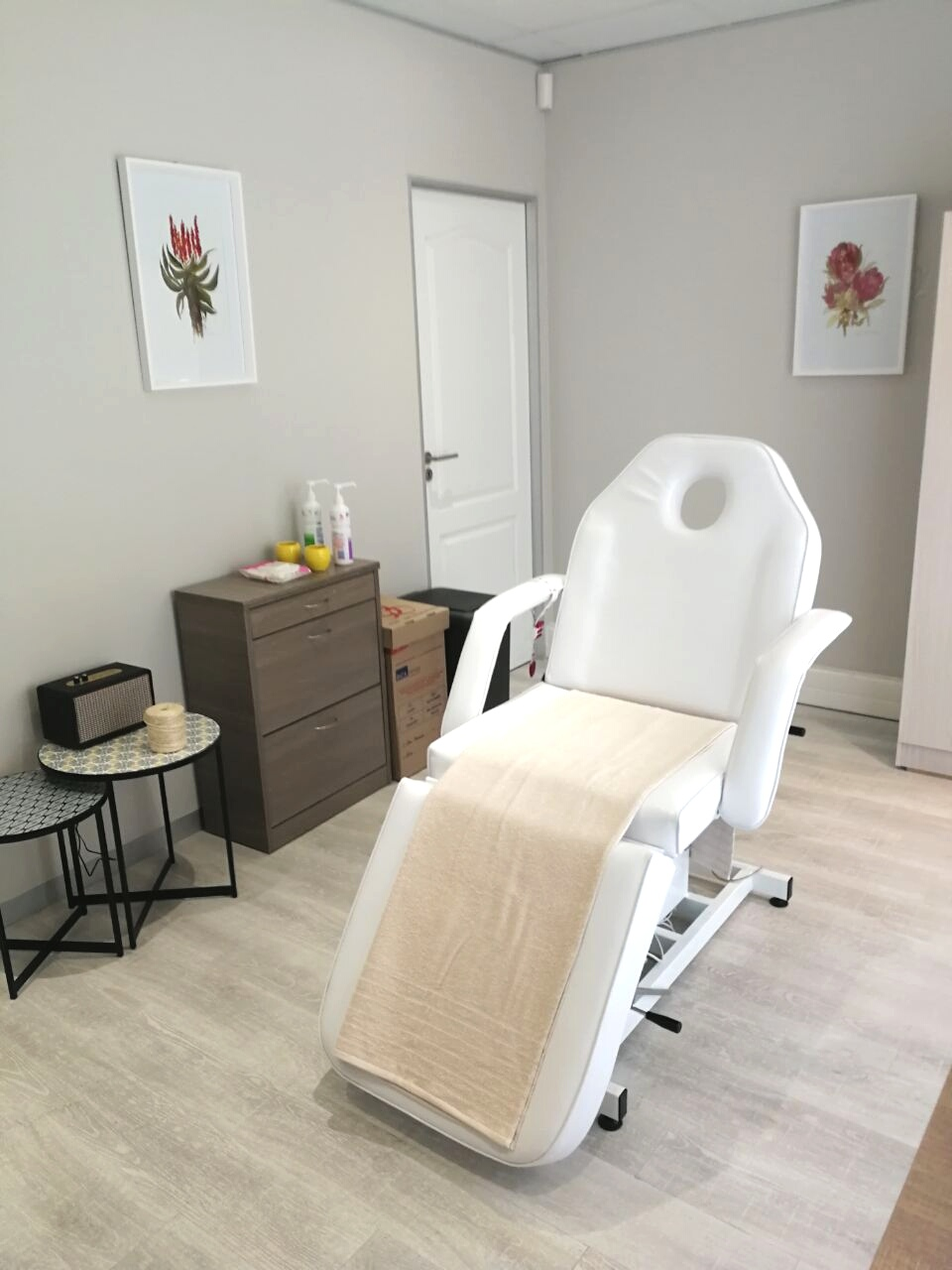 Our Skincare Therapy room in Somerset West.